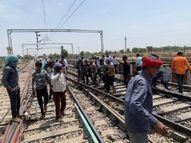 रेलकर्मियों को मिला फ्रंट लाइन वर्कर्स का दर्जा, सभी केंद्रों पर लगेगी फ्री वैक्सीन|जयपुर,Jaipur - Dainik Bhaskar