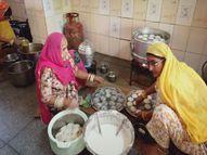 अस्पताल में रोज 600 मरीजों और परिजनों का खाना पहुंचाया जा रहा, वृद्धाश्रम समेत 100 लोगों की टीम मदद में जुटी|पाली,Pali - Dainik Bhaskar