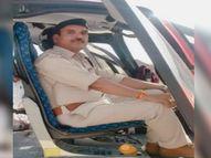 पूर्व सीएम उमा भारती को निकलना था, ड्यूटी में खड़े सब इंस्पेक्टर को कुचल गया तेज रफ्तार वाहन, मौत|ग्वालियर,Gwalior - Dainik Bhaskar