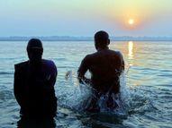 इस तिथि पर सूर्य की अमा नाम की किरण में रहता है चंद्रमा इसलिए कहते हैं अमावस्या|धर्म,Dharm - Dainik Bhaskar