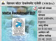 नेशनल वॉटर डेवलेपमेंट एजेंसी ने LDC समेत विभिन्न पदों पर निकाली भर्ती, 25 मई तक ऑनलाइन करें अप्लाई|करिअर,Career - Money Bhaskar
