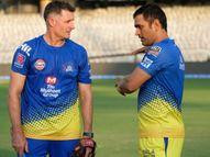 IPLके दौरान पॉजिटिव हुए CSK के बैटिंग कोच माइकल हसी निगेटिव होने के बाद फिर पॉजिटिव हो गए हैं; कुछ दिन और चेन्नई में रूकेंगे|IPL 2021,IPL 2021 - Money Bhaskar