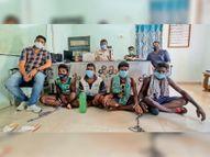 जवान व मुंशी की हत्या, आगजनी के आरोपी 8 नक्सली गिरफ्तार|सुकमा,Sukma - Money Bhaskar