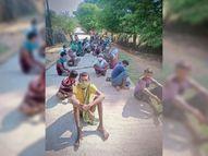 केशकाल ब्लॉक के नलाझर में 10 दिन तक बंद रही बिजली, रोड पर बैठे लोग|बस्तर,Bastar - Money Bhaskar
