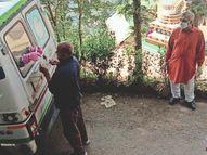 कोरोना टेस्ट को नहीं जा रहे हैं लोग, अब घरों पर मोबाइल टेस्टिंग वैन पर होंगे सबके टेस्ट|शिमला,Shimla - Dainik Bhaskar