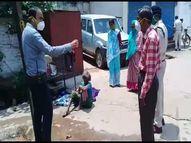 पिछले तीन दिनों में दो महिलाओं को आश्रय स्थल पहुंचाया, सीनियर सिटीजन को वैक्सीनेशन सेंटर तक भी पहुंचा रही दुर्ग पुलिस भिलाई,Bhilai - Money Bhaskar