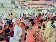 4 केंद्रों पर 100% से ज्यादा टीकाकरण, महिला बस्ती गृह में हर डेढ़ मिनट में 1 को लगा टीका|नीमच,Neemuch - Money Bhaskar