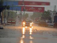 65 किमी रफ्तार की धूलभरी हवाओं के बाद 3 मिमी पानी बरसा जोधपुर,Jodhpur - Money Bhaskar