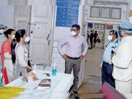 5 दिन से संक्रमित कम, पॉजिटिव रेट 19.65% घटा, यह हालात 15 दिन रहें तब काबू में कोरोना|रतलाम,Ratlam - Money Bhaskar