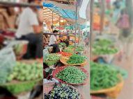 भदवासिया फल सब्जी मंडी में पुलिस सख्ती से गिरे सब्जियों के दाम, पावटा में टमाटर 10 और प्याज 18 रुपए किलो बेचे जा रहे जोधपुर,Jodhpur - Money Bhaskar