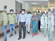 एमजीएच में बन रहे 250 बेड के नए कोविड सेंटर का विधायक पंवार ने किया अवलोकन जोधपुर,Jodhpur - Money Bhaskar