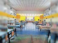 राहत, काेविड अस्पतालाें में नार्मल-ऑक्सीजन बेड हाेने लगे खाली|बिलासपुर,Bilaspur - Money Bhaskar