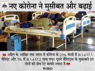WHO ने कहा- भारत में कई धार्मिक और राजनीतिक आयोजनों की वजह से भी संक्रमण फैला कोरोना - वैक्सीनेशन,Coronavirus - Dainik Bhaskar