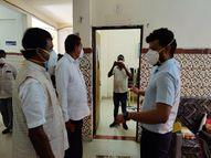 बस्तर सांसद पहुंचे कोंडागांव के कोविड अस्पताल, मरीजों से हल्बी बोली में कहा- वक्त पर दवा लें सब ठीक होगा|छत्तीसगढ़,Chhattisgarh - Money Bhaskar