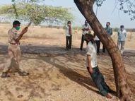 बबूल के पेड़ पर झूल गया वृद्ध, पर्ची पर लिखा- मैं अपनी मर्जी से जान दे रहा हूं; दूसरा जगह युवक ने भी फंदा लगाकर दी जान जोधपुर,Jodhpur - Money Bhaskar