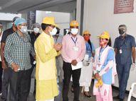 रीवा शहर में घटा संक्रमण पर गांव में चिंता की लकीर, 226 में 171 मरीज मिले रूरल एरिया में|रीवा,Rewa - Money Bhaskar