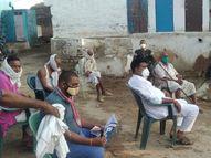 गहेली गांव में 13 दिन में 13 मौत सिर्फ तापमान लेकर लौटे डॉक्टर|भिंड,Bhind - Money Bhaskar