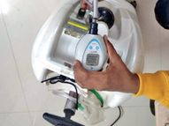 JP अस्पताल में लगे कंसंट्रेटर में ऑक्सीजन की शुद्धता सिर्फ 43.3%, होनी चाहिए 95%|भोपाल,Bhopal - Money Bhaskar