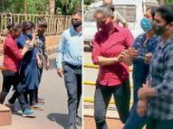 महिला इंस्पेक्टर ने कांस्टेबल, सब इंस्पेक्टर से मिलकर चार लोगों से 26 लाख रुपए वसूले|देश,National - Dainik Bhaskar