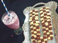 घर पर बेक करें चेकर बोर्ड कुकीज़, दूध या स्मूदी के साथ सर्व करें वीमेन,Women - Dainik Bhaskar