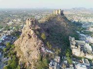 352 साल पहले आज ही के दिन हुई थी दांता गांव की स्थापना, पांच पहाड़ों के बीच दांता को ठाकुर अमर सिंह ने बसाया|सीकर,Sikar - Dainik Bhaskar