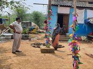 अक्षय तृतीया पर होने वाली दर्जनों शादियां टलीं, गांवों में पुलिस ने बढ़ाई गश्ती ताकि कोई मैरिज फंक्शन के लिए भीड़ न जुटा ले|रायगढ़,Raigarh - Dainik Bhaskar