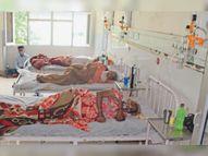 18 मौतें, 993 नए केस, क्षमता से बढ़े एल3 के मरीज तो लगवाने पड़े 15 एक्सट्रा बेड बठिंडा,Bathinda - Dainik Bhaskar