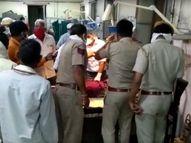 बारात की निकासी के दौरान टीम ने की फायरिंग, दूल्हे की दादी को लगी गोली; गंभीर रूप से घायल|धौलपुर,Dholpur - Dainik Bhaskar