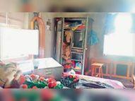 नवटोली में जेवरात, रुपए व कपड़े चुराए, 10 लाख का हुआ नुकसान|मधुबनी,Madhubani - Dainik Bhaskar