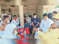 विधायक ने क्षेत्र में भ्रमण कर लाेगाें काे दी ईद की मुबारकबाद|खुटौना,Khutauna - Dainik Bhaskar