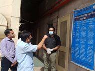 रेमडेसिविर इंजेक्शन को लेकर शिकायतों के चलते बंद कर दिया कोविड का इलाज, प्रशासन को दो दिन पहले ही दे दी थी सूचना बीकानेर,Bikaner - Dainik Bhaskar