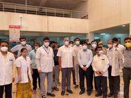 जोधपुर में मिले 875 नए संक्रमित, पहली बार दो हजार से अधिक लोगों को किया डिस्चार्ज|राजस्थान,Rajasthan - Dainik Bhaskar