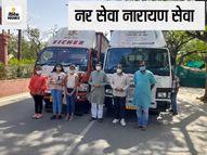 झुंझुनूं को हर रोज गुजरात से 150 ऑक्सीजन सिलेंडर भेजेगा राधे-राधे ग्रुप, भाड़ा तक खुद वहन करेंगे सूरत के ये भामाशाह|राजस्थान,Rajasthan - Dainik Bhaskar