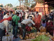 संक्रमण दर घट कर 5% हुई, फिर भी 17 मई के बाद नहीं मिलेगी छूट|होशंगाबाद,Hoshangabad - Dainik Bhaskar