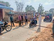 गांवाें में तानेंगे रस्से, पत्थरों से रास्ते राेकेंगे ताकि बंद हाे आना-जाना|सीकर,Sikar - Dainik Bhaskar
