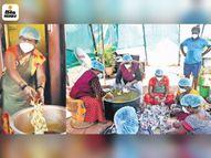 महामारी के बीच चेन्नई की ट्रांस महिलाएं मुफ्त में बांट रहीं खाना, लॉकडाउन के शुरुआती दौर में खुद पैसे जुटाकर शुरू किया ये नेक काम लाइफस्टाइल,Lifestyle - Dainik Bhaskar