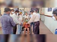 रविवार को 259 मरीज हुए स्वस्थ, अब तक 10066 लोग ठीक हुए शिवपुरी,Shivpuri - Dainik Bhaskar