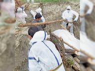 कोरोना के खौफ में जिनके शव को छूते नहीं परिजन, उन्हें मुक्तिधाम तक ले जाते विधायक|मुजफ्फरपुर,Muzaffarpur - Dainik Bhaskar