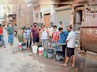 28 तक नहरबंदी, 29 काे शुरू हाेगा नहर में पानी, 2-3 जून काे शहर के जलाशयों में पानी आते ही सप्लाई नियमित होगी बीकानेर,Bikaner - Dainik Bhaskar