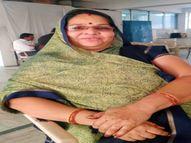 उदयपुर में 55 साल की महिला ने 21 दिन बाद कोरोना से जीती जंग, कहा- डॉक्टर की पॉजिटिविटी की बदौलत आज फिर से हुई हूं स्वस्थ|उदयपुर,Udaipur - Dainik Bhaskar