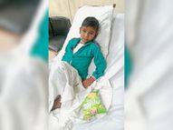 दिल में छेद की वजह से सांस लेने में होती थी परेशानी, ऑपरेशन के बाद डीग के राजीव को मिली नई जिंदगी|भरतपुर,Bharatpur - Dainik Bhaskar