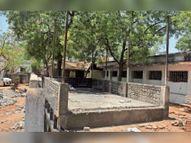 7 माह से बंद आईसीयू खोला, वेंटिलेटर 7 दिन में चालू करेंगे, रोज 20 सीटी स्कैन होंगे गुना,Guna - Dainik Bhaskar