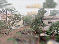 बारिश से 5 डिग्री की गिरावट; पारा 35 पर पहुंचा, आंधी व बारिश से उमस भरी गर्मी से लाेगाें काे मिली राहत|घाटशिला,Ghatsila - Dainik Bhaskar