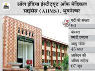 AIIMS भुवनेश्वर ने सीनियर रेजिडेंट के 90 पदों पर निकाली भर्ती, 18 मई से शुरू होगी एप्लीकेशन प्रोसेस|करिअर,Career - Dainik Bhaskar