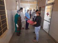 कल से शुरू होगा 20 बेड़ का कोविड केयर सेंटर, लेकिन डॉक्टर्स के कोविड पॉजिटिव आने से नहीं लग पाए तीन वेंटिलेंटर|राजस्थान,Rajasthan - Dainik Bhaskar