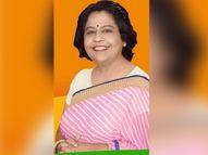 भाजपा की राष्ट्रीय मंत्री अल्का गुजर का गहलोत सरकार पर हमला, बोलीं- इस विपत्ति के समय में कांग्रेस दूषित राजनीति कर रही राजस्थान,Rajasthan - Dainik Bhaskar