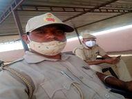कोविड सेंटर पर तैनात था, तबीयत बिगड़ी तो दो दिन भर्ती भी रहा; आखिर दम तोड़ा|सीकर,Sikar - Dainik Bhaskar