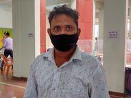 सीटी स्कोर 24 व ऑक्सीजन लेवल 65 तक पहुंचा, प्रॉपर इलाज के साथ खुद को अंदर से मजबूत रखा, एकदम स्वस्थ्य होकर घर लौटे|राजस्थान,Rajasthan - Dainik Bhaskar