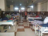अस्पतालों में बिजली जाने का डर, वेंटिलेटर पर चल रहे मरीजों को ज्यादा खतरा, हेल्थ सेक्रेटरी ने दिए जेनरेटर ठीक रखने के आदेश|जयपुर,Jaipur - Dainik Bhaskar