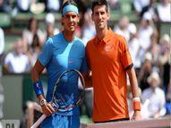 इटेलियन ओपन के फाइनल में नडाल से भिड़ेंगे नंबर-1 जोकोविच; दोनों के बीच अब तक 56 मुकाबले में 29 बार नोवाक जीते|स्पोर्ट्स,Sports - Dainik Bhaskar